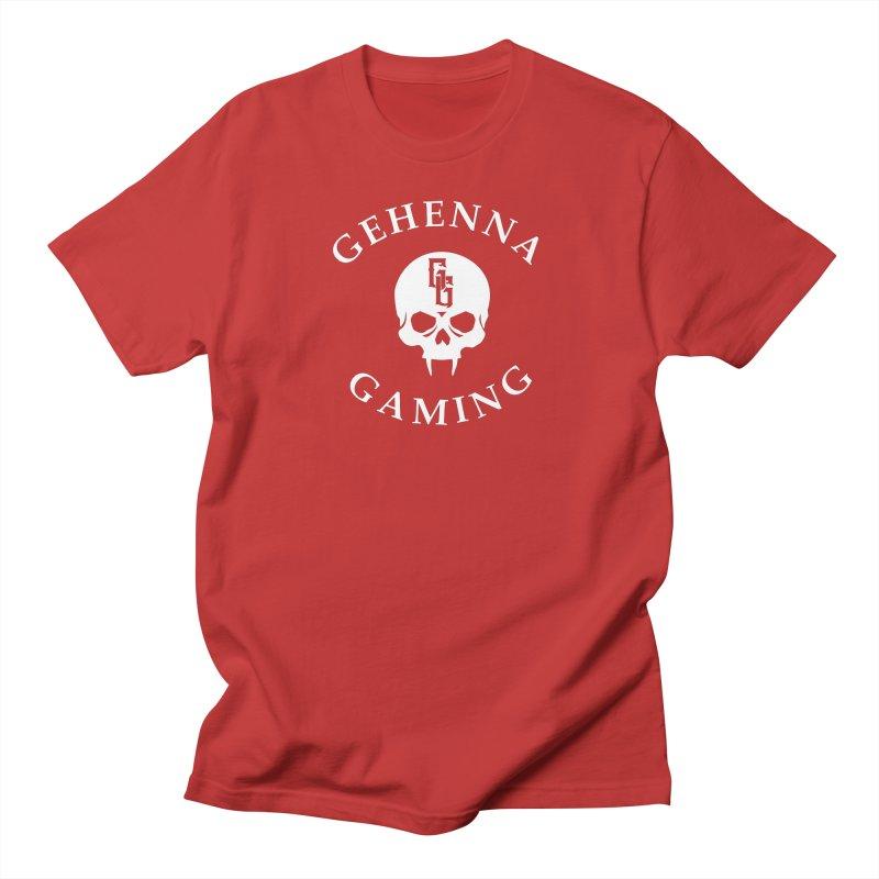 Gehenna Gaming (Goth Version) Men's Regular T-Shirt by GehennaGaming's Artist Shop