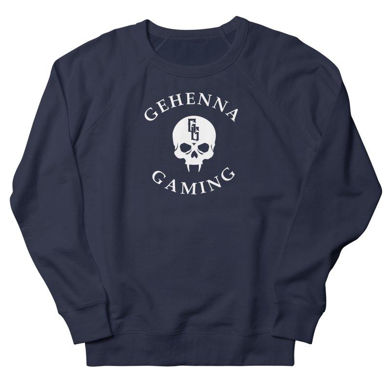 Gehenna Gaming (Goth Version) Men's French Terry Sweatshirt by GehennaGaming's Artist Shop