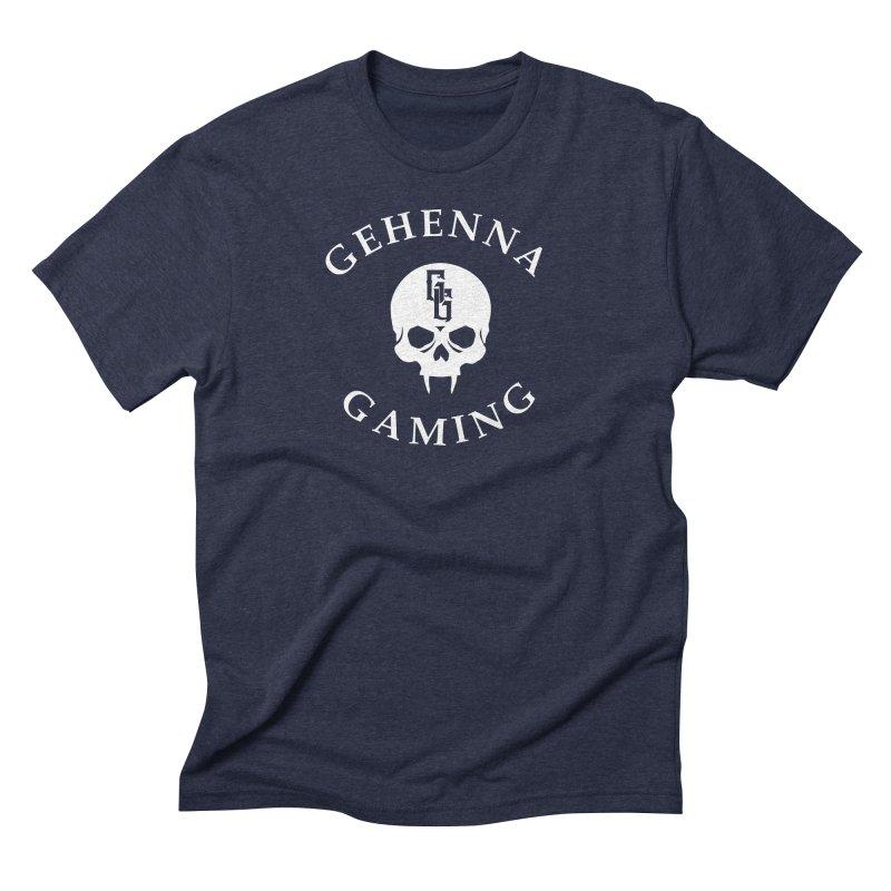 Gehenna Gaming (Goth Version) Men's Triblend T-Shirt by The Gehenna Gaming Shop