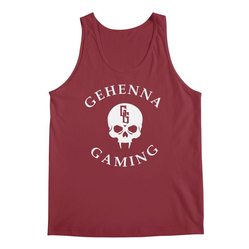 Gehenna Gaming (Goth Version) Men's Tank by The Gehenna Gaming Shop