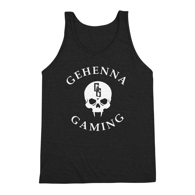 Gehenna Gaming (Goth Version) Men's Triblend Tank by The Gehenna Gaming Shop
