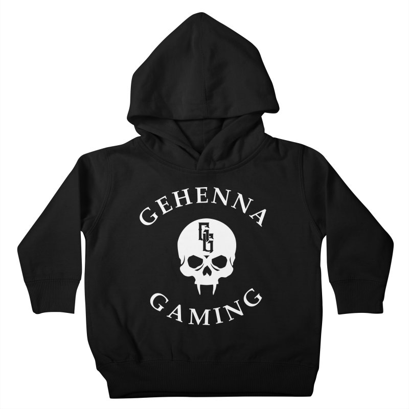 Gehenna Gaming (Goth Version) Kids Toddler Pullover Hoody by The Gehenna Gaming Shop