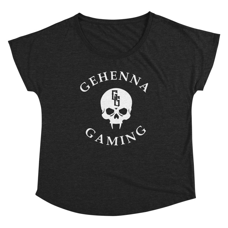 Gehenna Gaming (Goth Version) Women's Dolman Scoop Neck by The Gehenna Gaming Shop