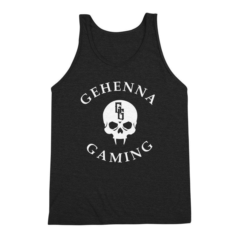 Gehenna Gaming (Goth Version) Men's Triblend Tank by GehennaGaming's Artist Shop