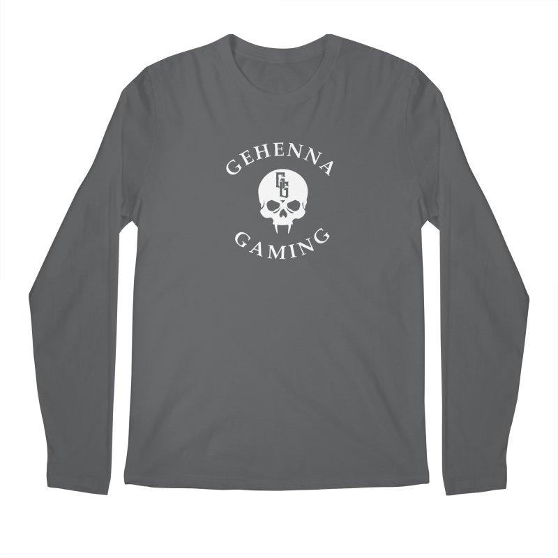 Gehenna Gaming (Goth Version) Men's Longsleeve T-Shirt by The Gehenna Gaming Shop