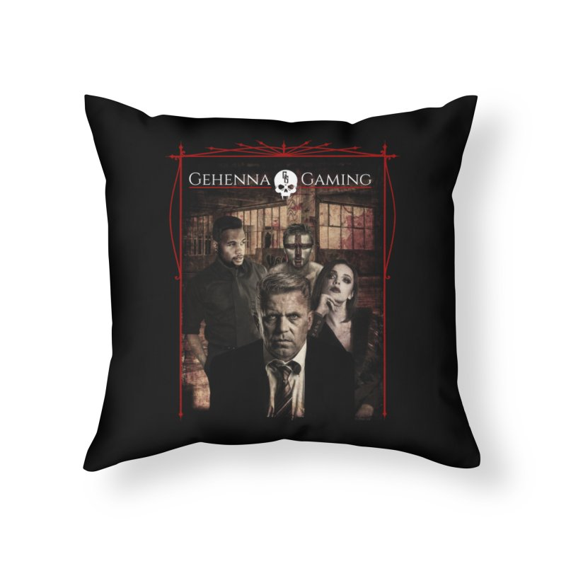 Gehenna Gaming: The Coterie Home Throw Pillow by The Gehenna Gaming Shop