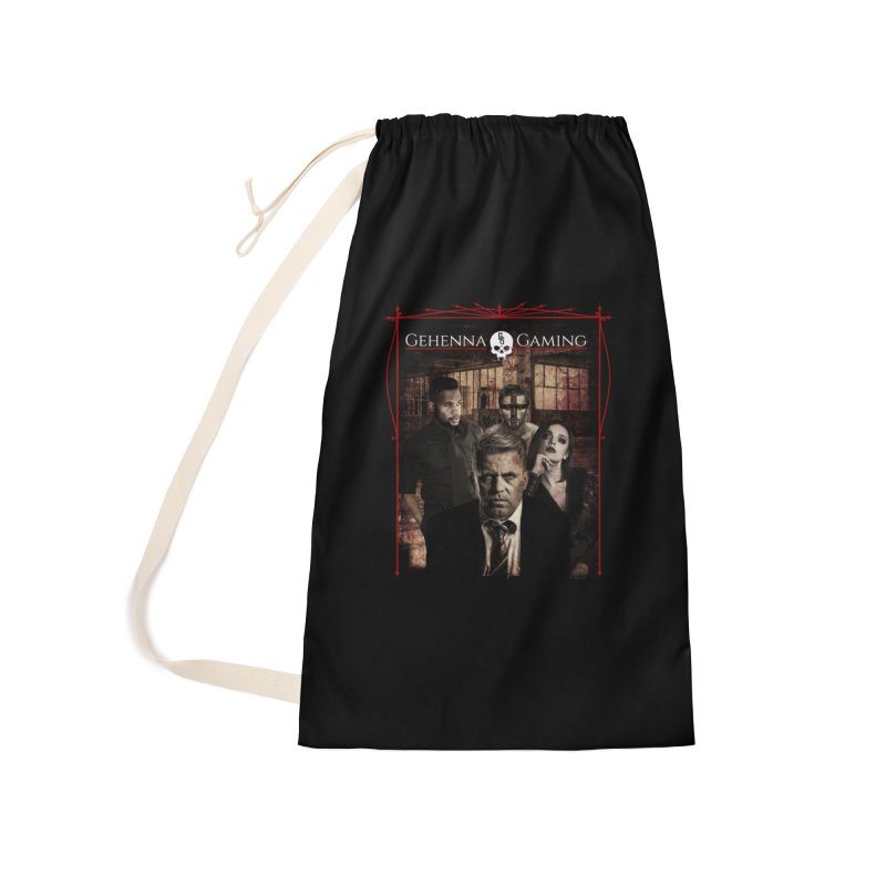 Gehenna Gaming: The Coterie Accessories Laundry Bag Bag by The Gehenna Gaming Shop