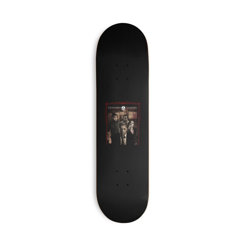 Gehenna Gaming: The Coterie Accessories Deck Only Skateboard by The Gehenna Gaming Shop