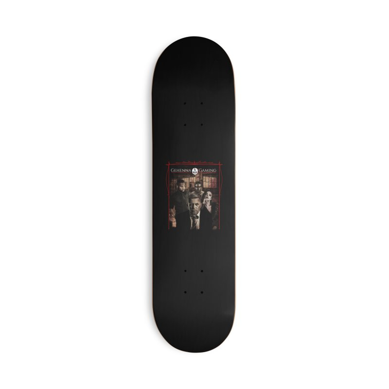 Gehenna Gaming: The Coterie Accessories Skateboard by The Gehenna Gaming Shop