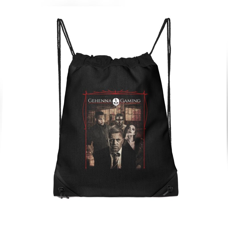 Gehenna Gaming: The Coterie Accessories Drawstring Bag Bag by GehennaGaming's Artist Shop