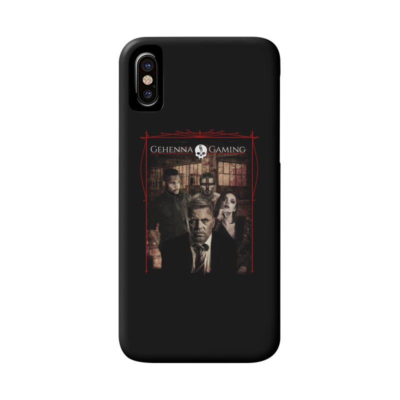 Gehenna Gaming: The Coterie Accessories Phone Case by GehennaGaming's Artist Shop