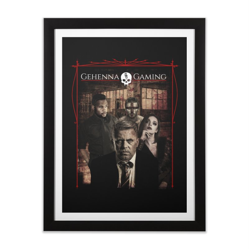 Gehenna Gaming: The Coterie Home Framed Fine Art Print by GehennaGaming's Artist Shop