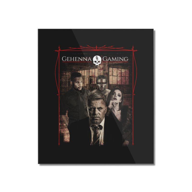 Gehenna Gaming: The Coterie Home Mounted Acrylic Print by GehennaGaming's Artist Shop