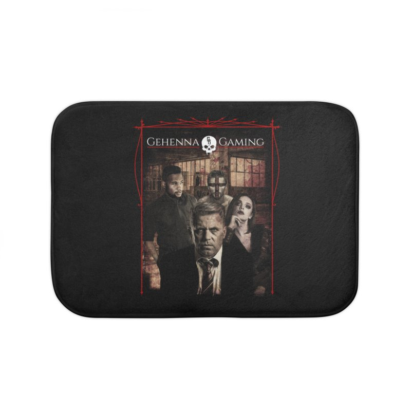Gehenna Gaming: The Coterie Home Bath Mat by The Gehenna Gaming Shop