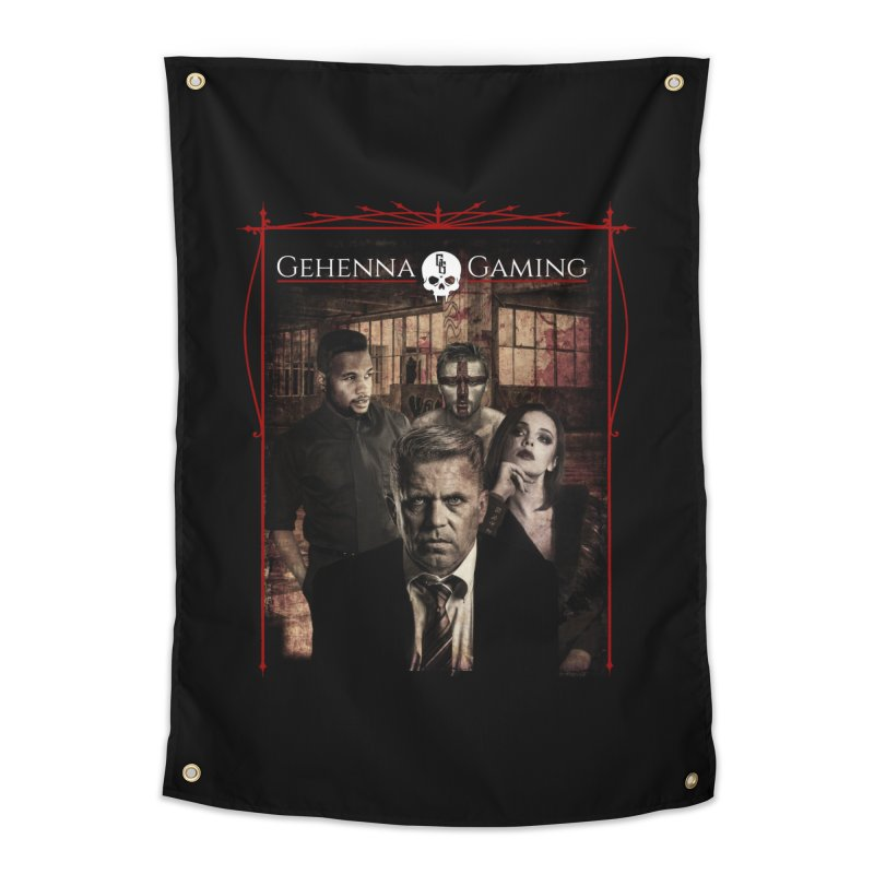 Gehenna Gaming: The Coterie Home Tapestry by The Gehenna Gaming Shop