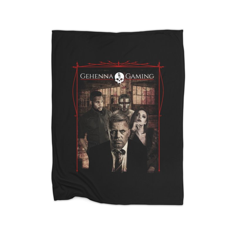 Gehenna Gaming: The Coterie Home Blanket by The Gehenna Gaming Shop