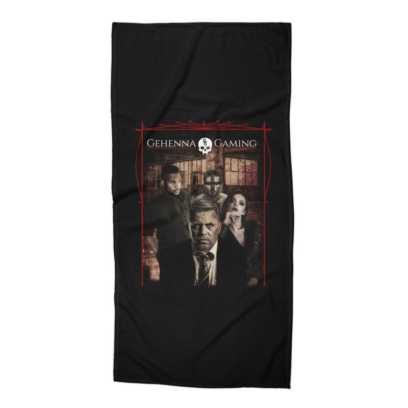 Gehenna Gaming: The Coterie Accessories Beach Towel by The Gehenna Gaming Shop