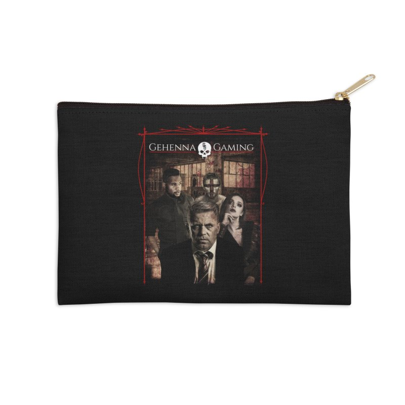 Gehenna Gaming: The Coterie Accessories Zip Pouch by The Gehenna Gaming Shop