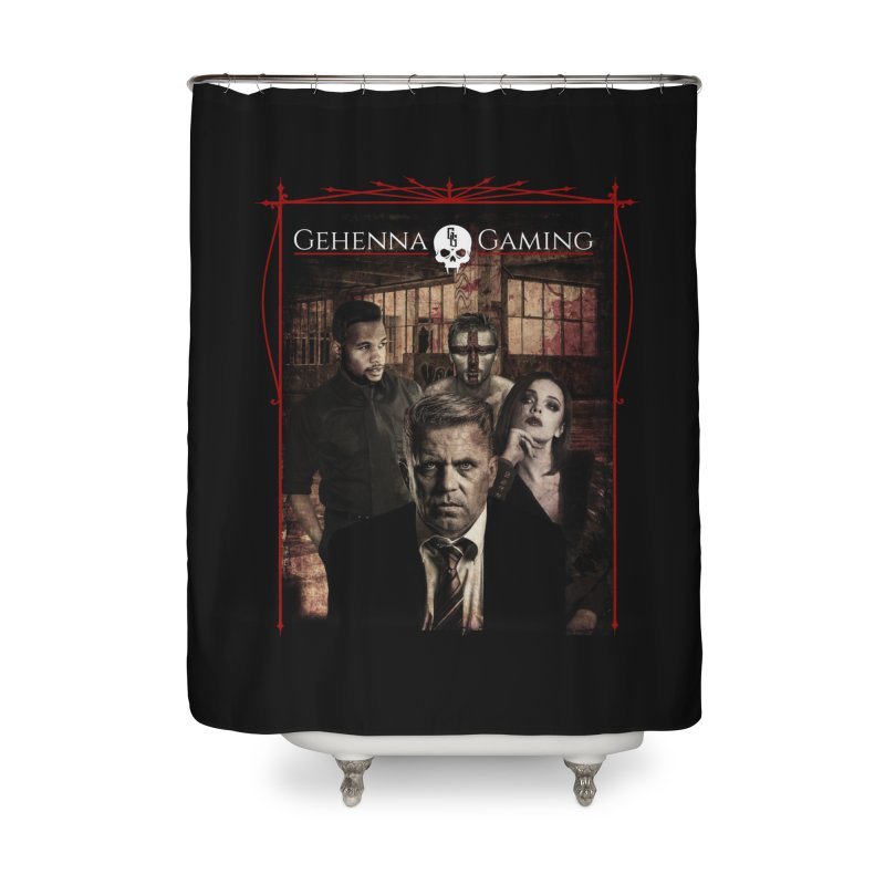 Gehenna Gaming: The Coterie Home Shower Curtain by The Gehenna Gaming Shop