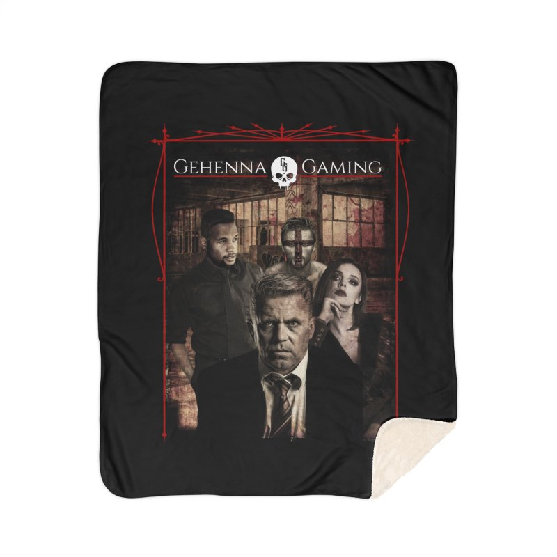 Gehenna Gaming: The Coterie Home Sherpa Blanket Blanket by The Gehenna Gaming Shop