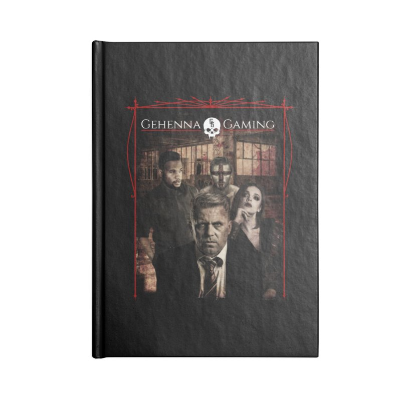 Gehenna Gaming: The Coterie Accessories Lined Journal Notebook by GehennaGaming's Artist Shop