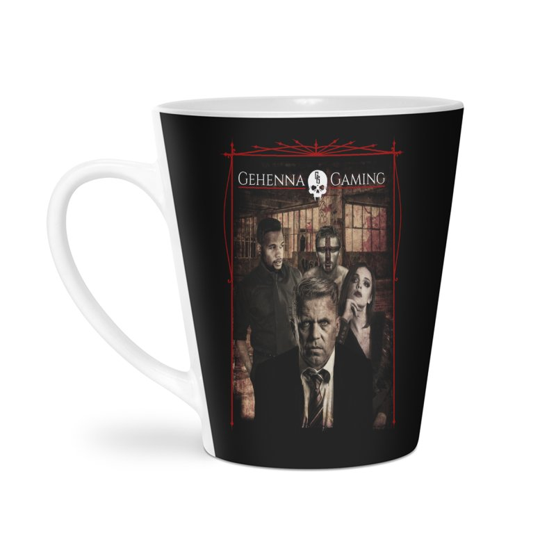 Gehenna Gaming: The Coterie Accessories Latte Mug by GehennaGaming's Artist Shop