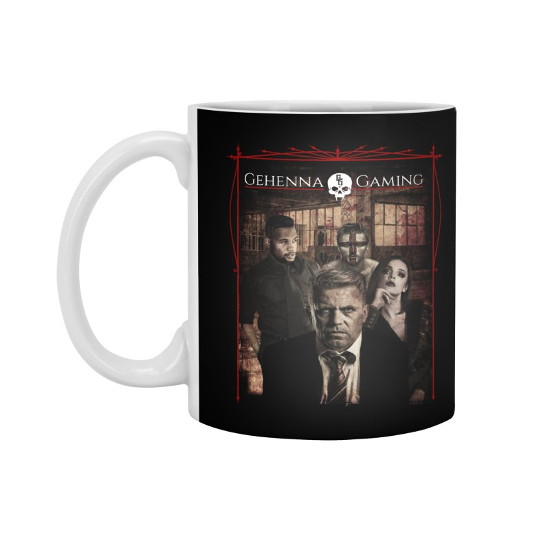 Gehenna Gaming: The Coterie Accessories Standard Mug by GehennaGaming's Artist Shop