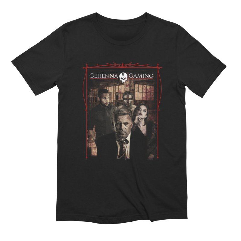 Gehenna Gaming: The Coterie in Men's Extra Soft T-Shirt Black by GehennaGaming's Artist Shop