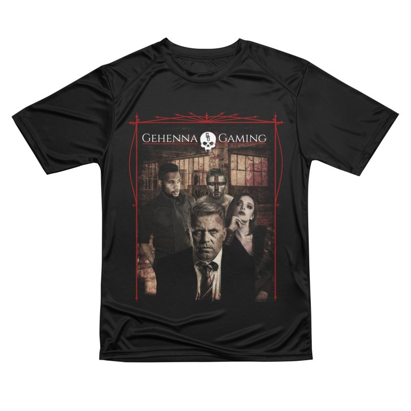 Gehenna Gaming: The Coterie Men's Performance T-Shirt by The Gehenna Gaming Shop
