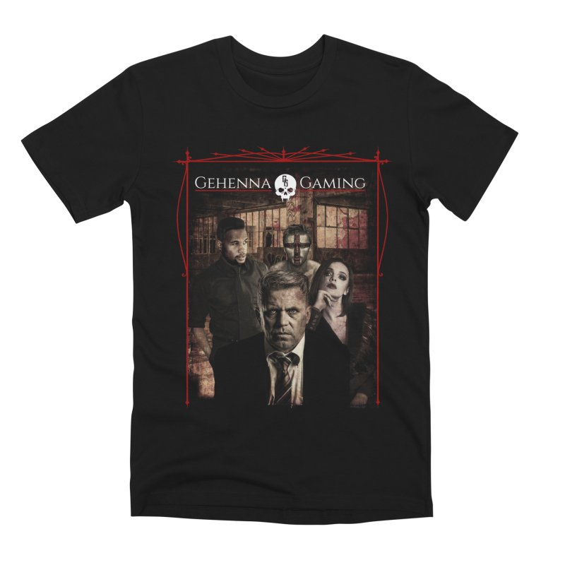 Gehenna Gaming: The Coterie Men's Premium T-Shirt by The Gehenna Gaming Shop