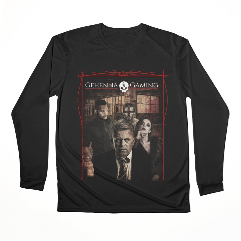 Gehenna Gaming: The Coterie Men's Performance Longsleeve T-Shirt by GehennaGaming's Artist Shop