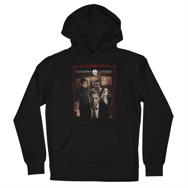 Gehenna Gaming: The Coterie Men's French Terry Pullover Hoody by The Gehenna Gaming Shop