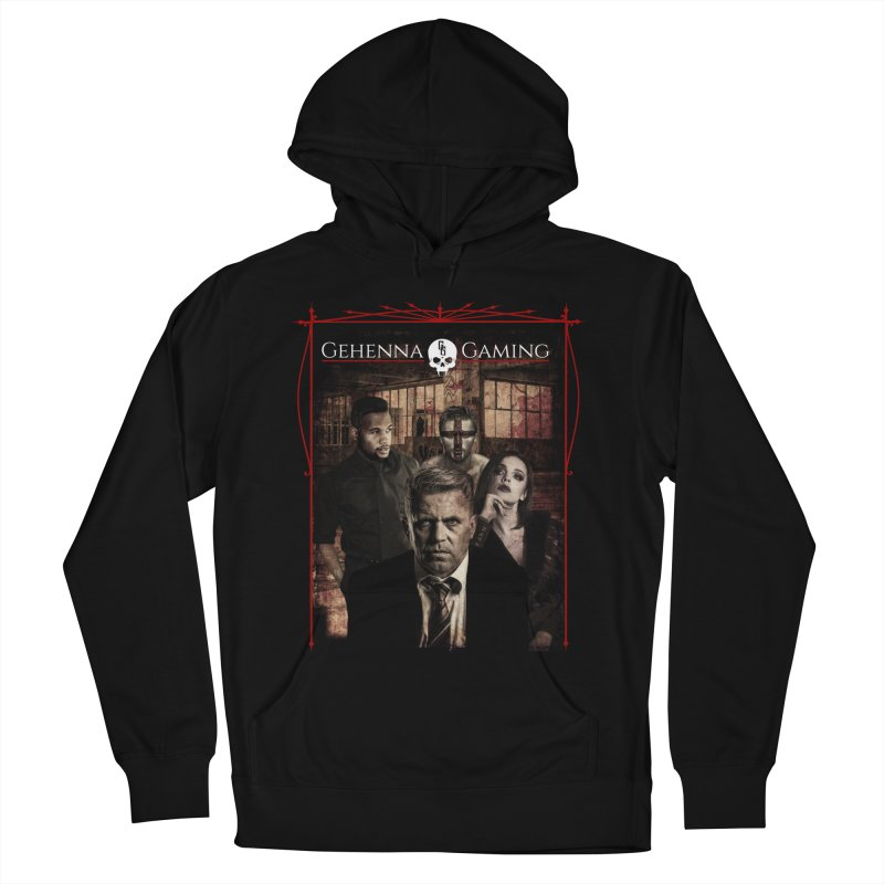 Gehenna Gaming: The Coterie Men's French Terry Pullover Hoody by GehennaGaming's Artist Shop