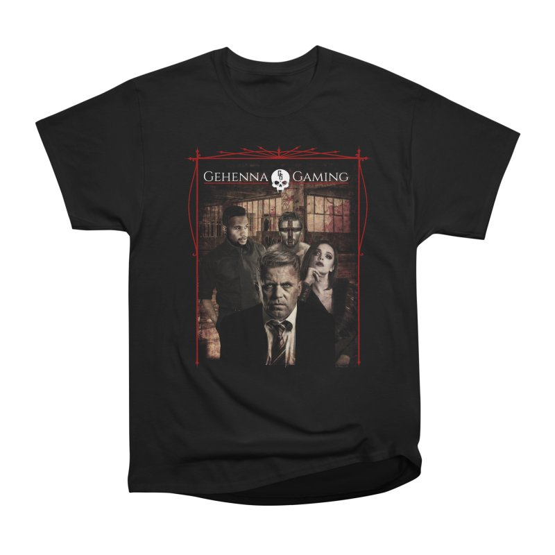 Gehenna Gaming: The Coterie Men's Heavyweight T-Shirt by GehennaGaming's Artist Shop