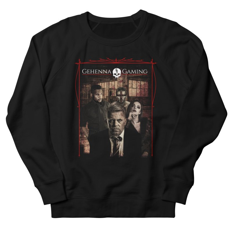 Gehenna Gaming: The Coterie Men's French Terry Sweatshirt by The Gehenna Gaming Shop