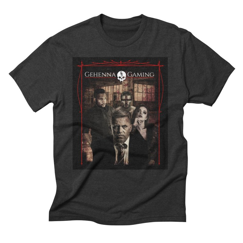 Gehenna Gaming: The Coterie Men's Triblend T-Shirt by The Gehenna Gaming Shop