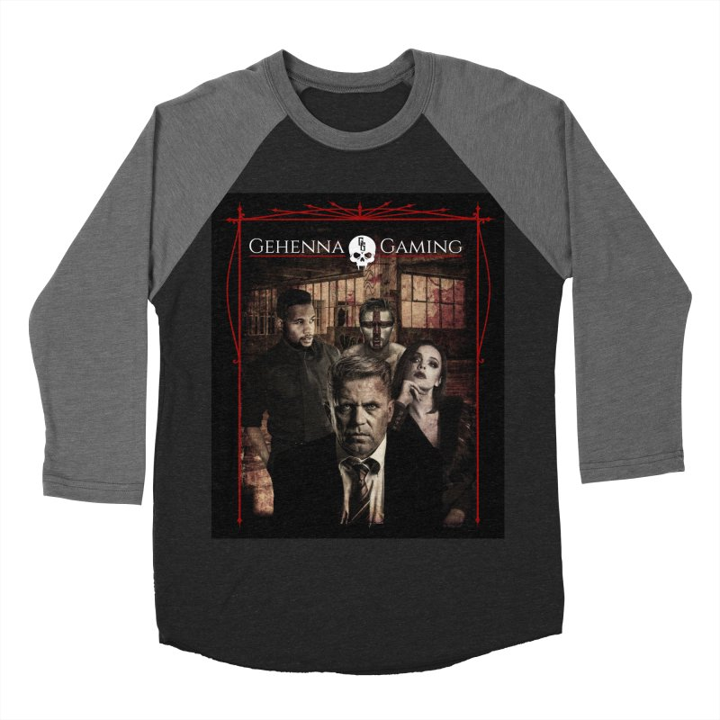 Gehenna Gaming: The Coterie Men's Baseball Triblend Longsleeve T-Shirt by GehennaGaming's Artist Shop