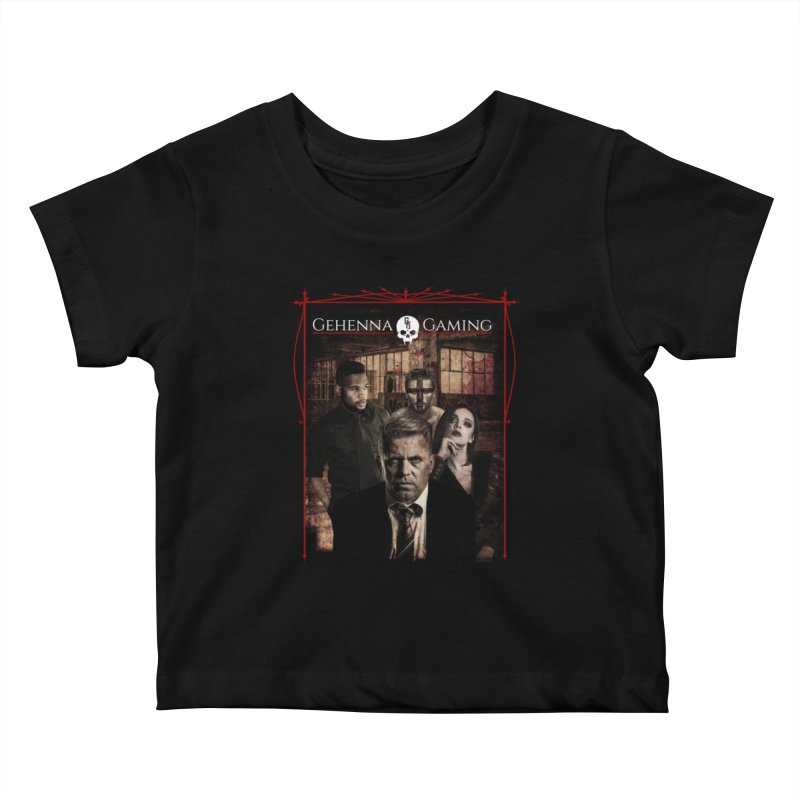 Gehenna Gaming: The Coterie Kids Baby T-Shirt by The Gehenna Gaming Shop