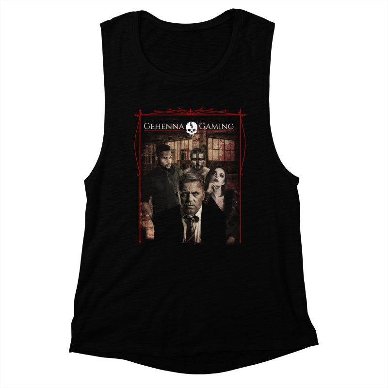 Gehenna Gaming: The Coterie Women's Muscle Tank by The Gehenna Gaming Shop