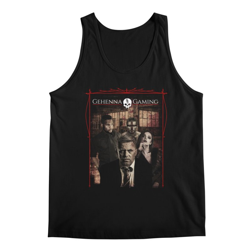 Gehenna Gaming: The Coterie Men's Regular Tank by The Gehenna Gaming Shop
