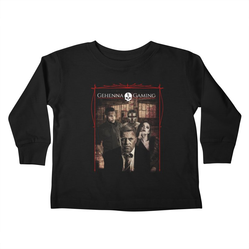 Gehenna Gaming: The Coterie Kids Toddler Longsleeve T-Shirt by GehennaGaming's Artist Shop