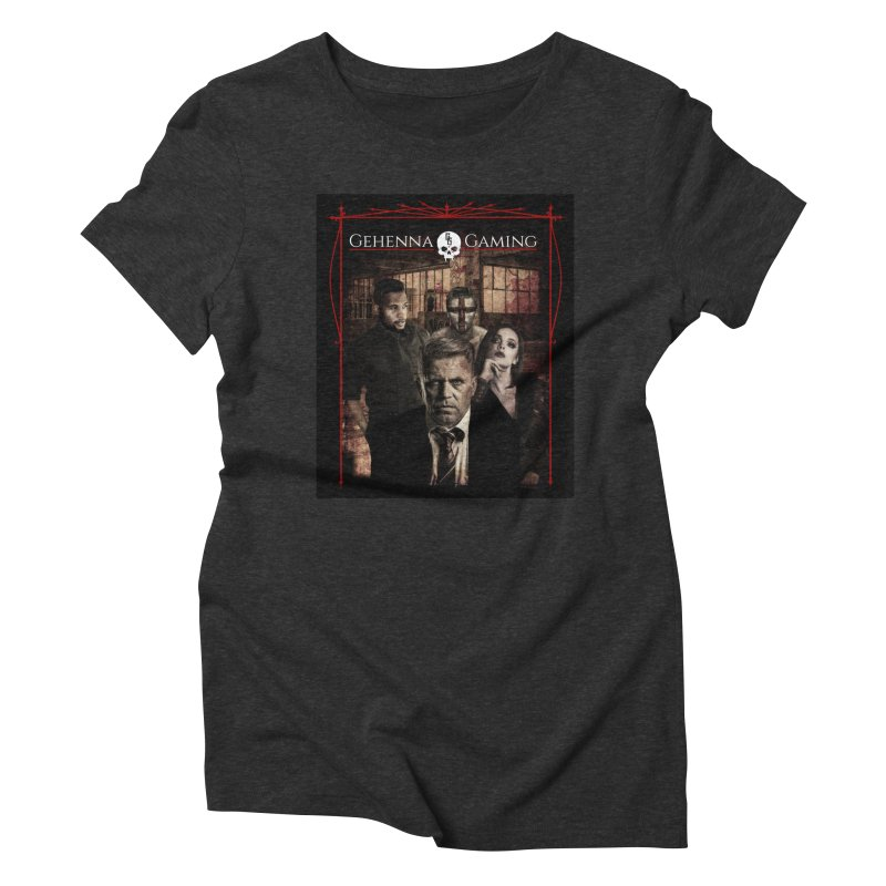 Gehenna Gaming: The Coterie Women's Triblend T-Shirt by The Gehenna Gaming Shop