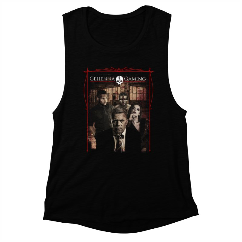 Gehenna Gaming: The Coterie Women's Muscle Tank by GehennaGaming's Artist Shop