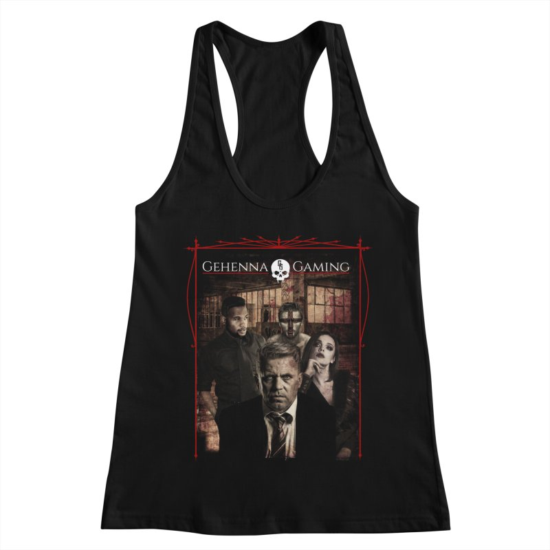 Gehenna Gaming: The Coterie Women's Racerback Tank by GehennaGaming's Artist Shop