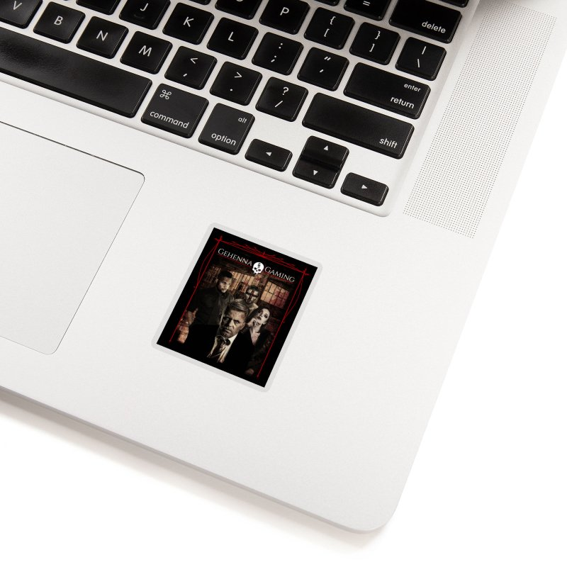Gehenna Gaming: The Coterie Accessories Sticker by The Gehenna Gaming Shop