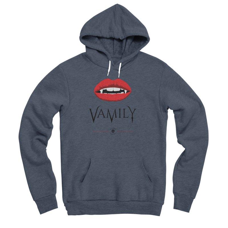 Vamily Men's Sponge Fleece Pullover Hoody by The Gehenna Gaming Shop