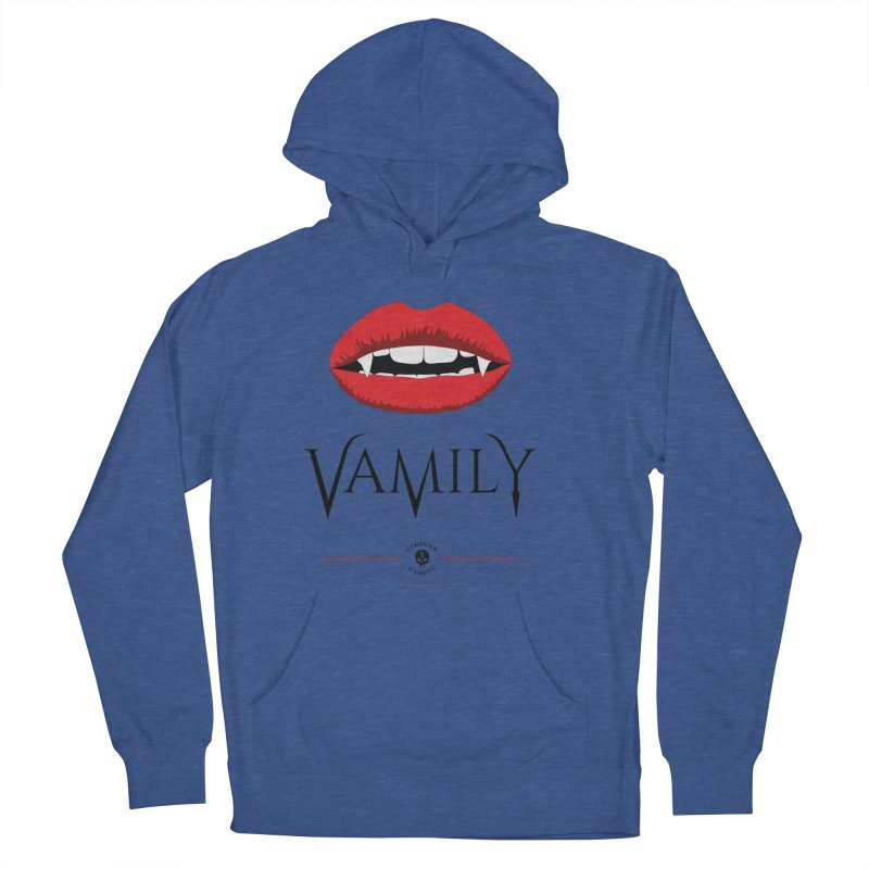 Vamily Women's French Terry Pullover Hoody by GehennaGaming's Artist Shop