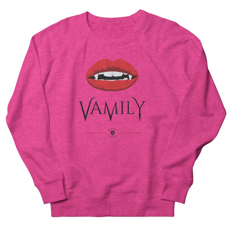 Vamily Men's French Terry Sweatshirt by GehennaGaming's Artist Shop