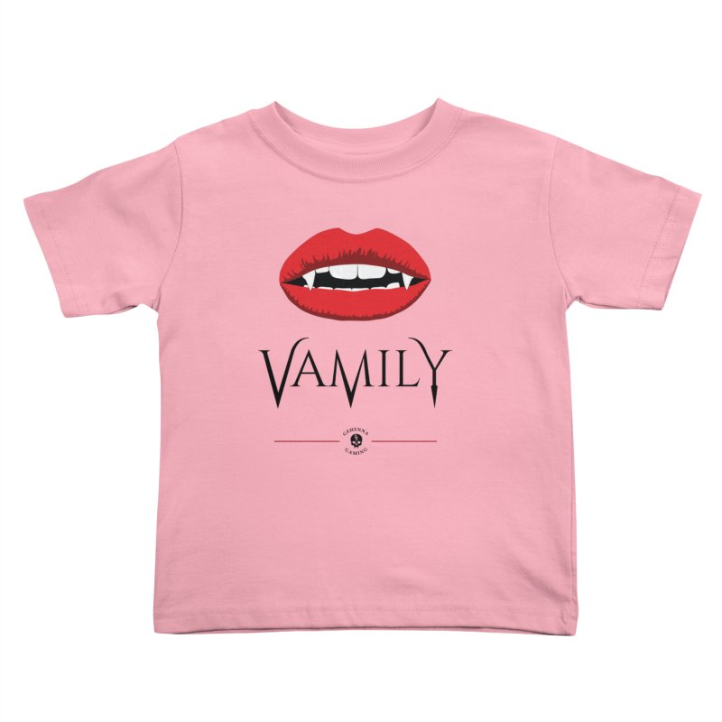 Vamily Kids Toddler T-Shirt by The Gehenna Gaming Shop