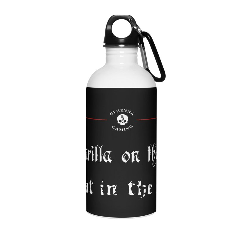 Camarilla on the streets, Sabbat in the sheets Accessories Water Bottle by GehennaGaming's Artist Shop